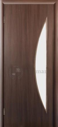 Ламинированная дверь Дверона Дюна Венге Сатин левая 2000x700 (ПОСЛЕДНИЙ РАЗМЕР ПО АКЦИИ)
