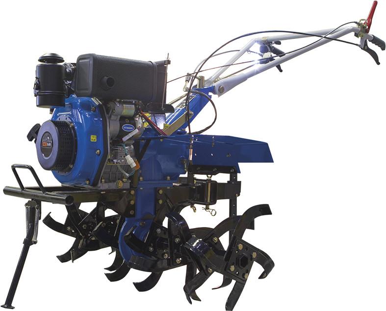 Мотоблок дизельный Prorab GT 605 VDKe электрический старт