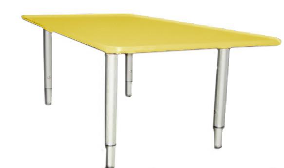 Стол детский РОССНАБСБЫТ прямоугольный регулируемый Малый Желтый