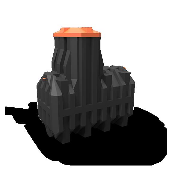 Автономная канализация Ergobox 6 PR в комплекте с сигнализацией