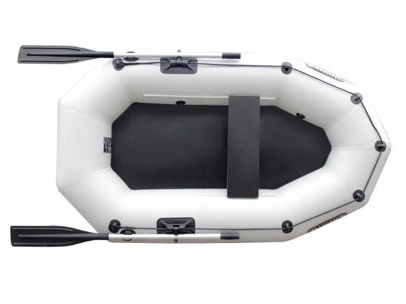 Надувная гребная лодка Aqua Storm St 220ma-34 Magellan Серая
