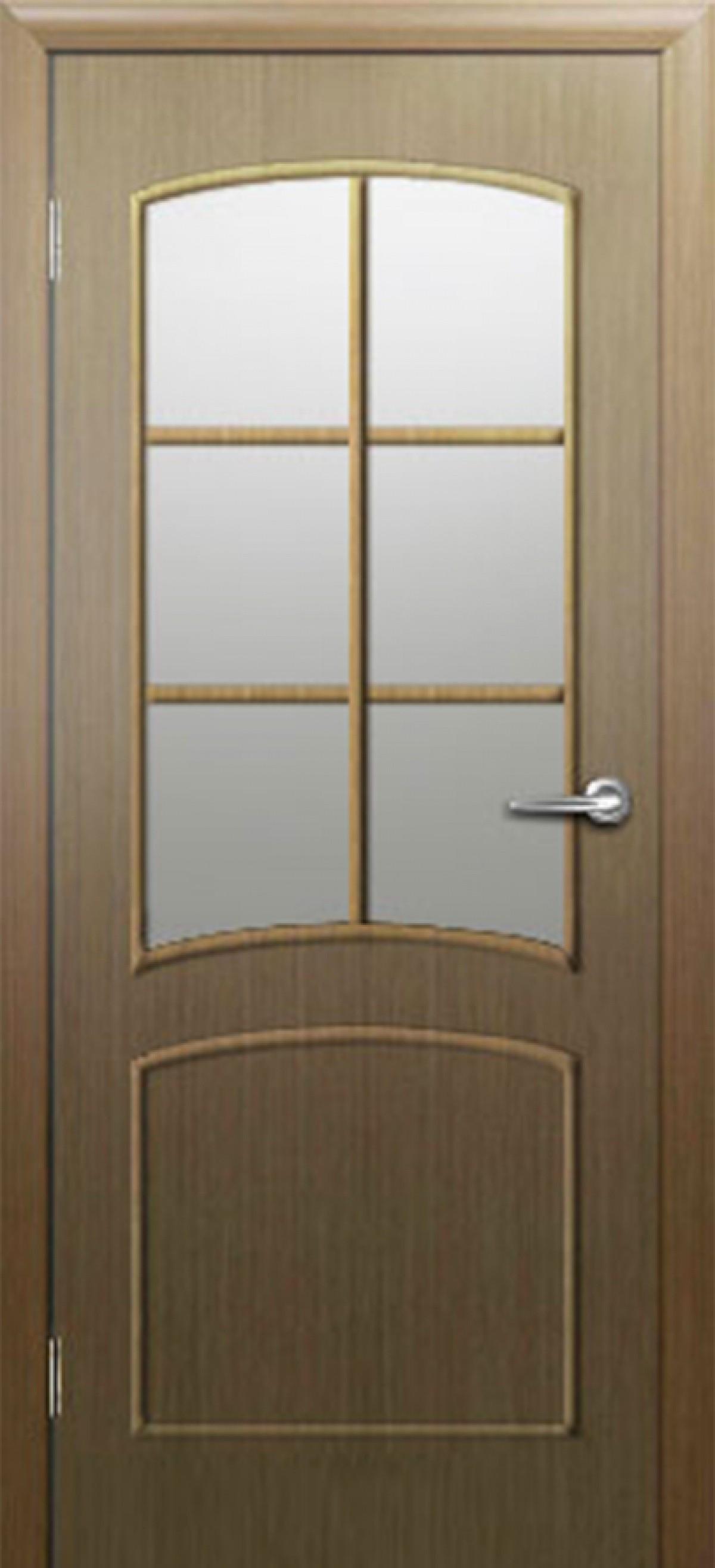 Ламинированная дверь Восход Соренто 6 ДО Дуб стекло Морган 2000x900 (ПОСЛЕДНИЙ РАЗМЕР ПО АКЦИИ)