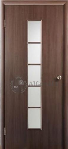 Ламинированная дверь Восход Ампир 5 ДО Венге 2000x400 (ПОСЛЕДНИЙ РАЗМЕР ПО АКЦИИ)