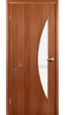 Ламинированная дверь Восход Дюна ДО Итальянский орех стекло матовое 1950x600 (ПОСЛЕДНИЙ РАЗМЕР ПО АКЦИИ)
