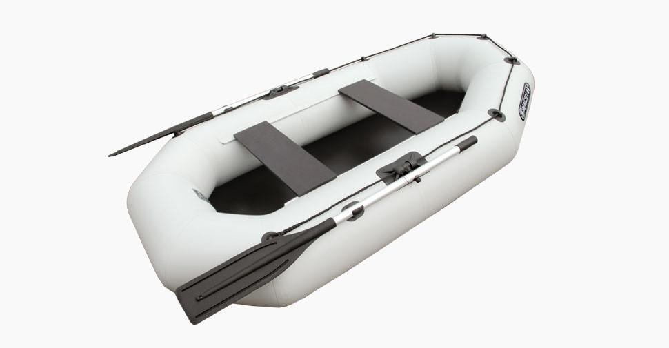 Надувная гребная лодка Aqua Storm St 240ma-34 Magellan Серая