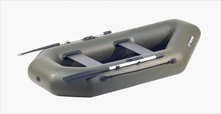 Надувная гребная лодка Aqua Storm St 240ma-34 Magellan Оливковая