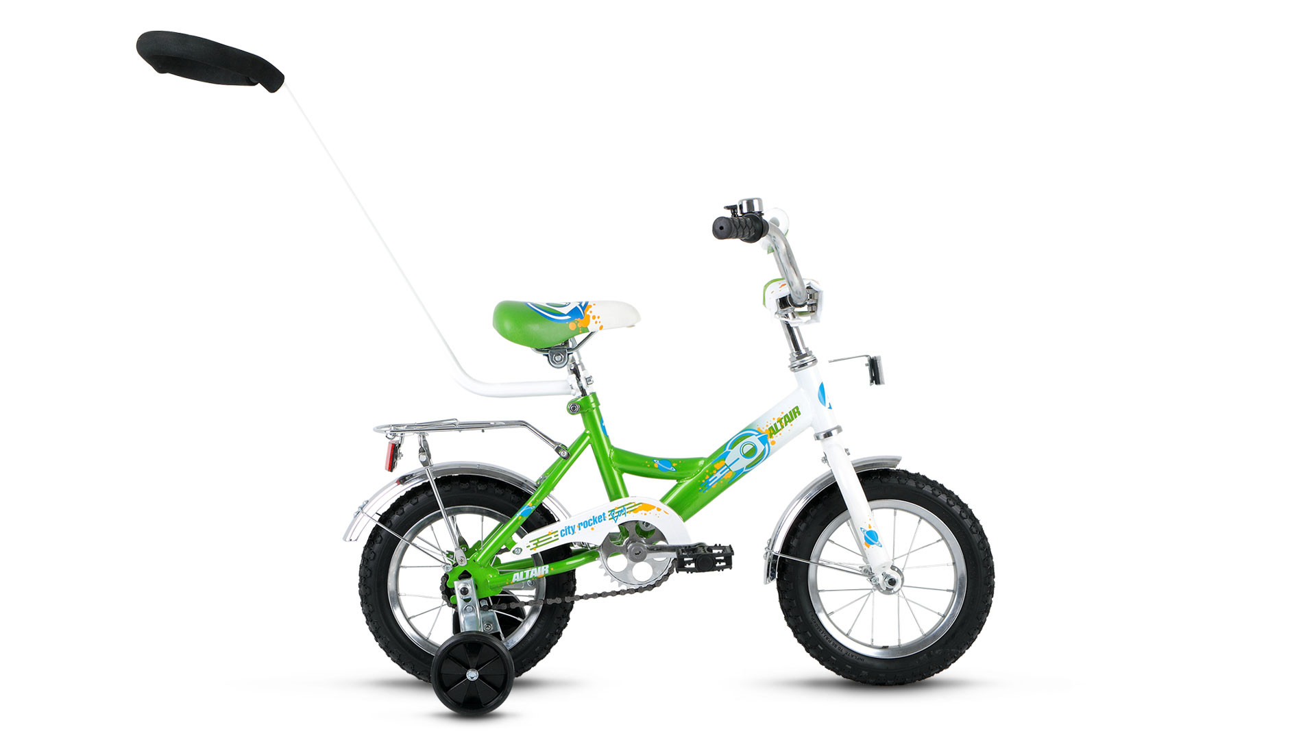 Детский велосипед Altair City Boy 2016 белый/зеленый