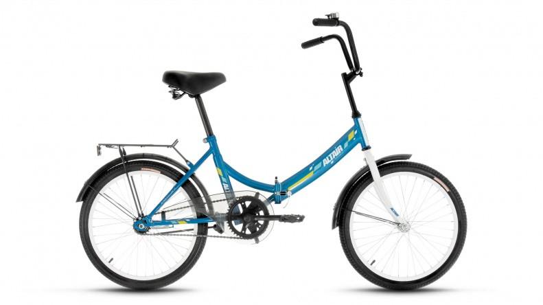 Складной велосипед Altair City 2017 синий