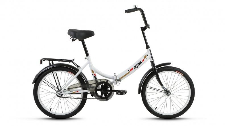 Складной велосипед Altair City 2018 белый