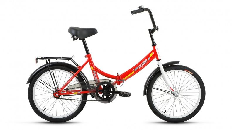 Складной велосипед Altair City 2018 красный