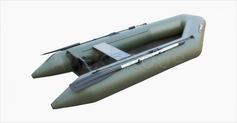Лодка моторно-килевая Aqua Storm Stk 270-32 Зеленая
