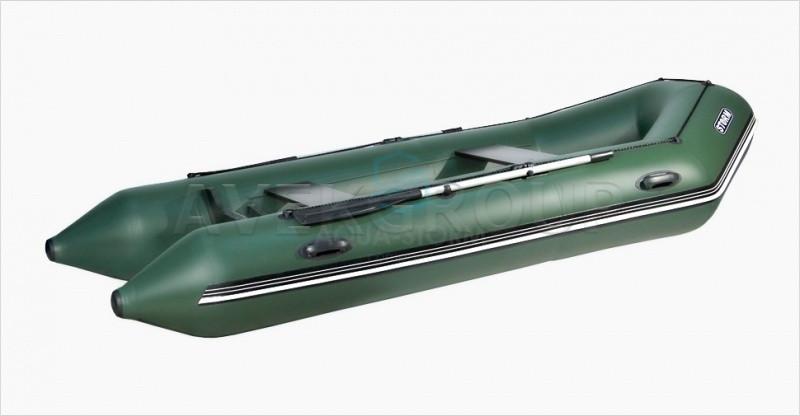 Лодка моторно-килевая Aqua Storm Stk 330-40 EVOLUTION Зеленая