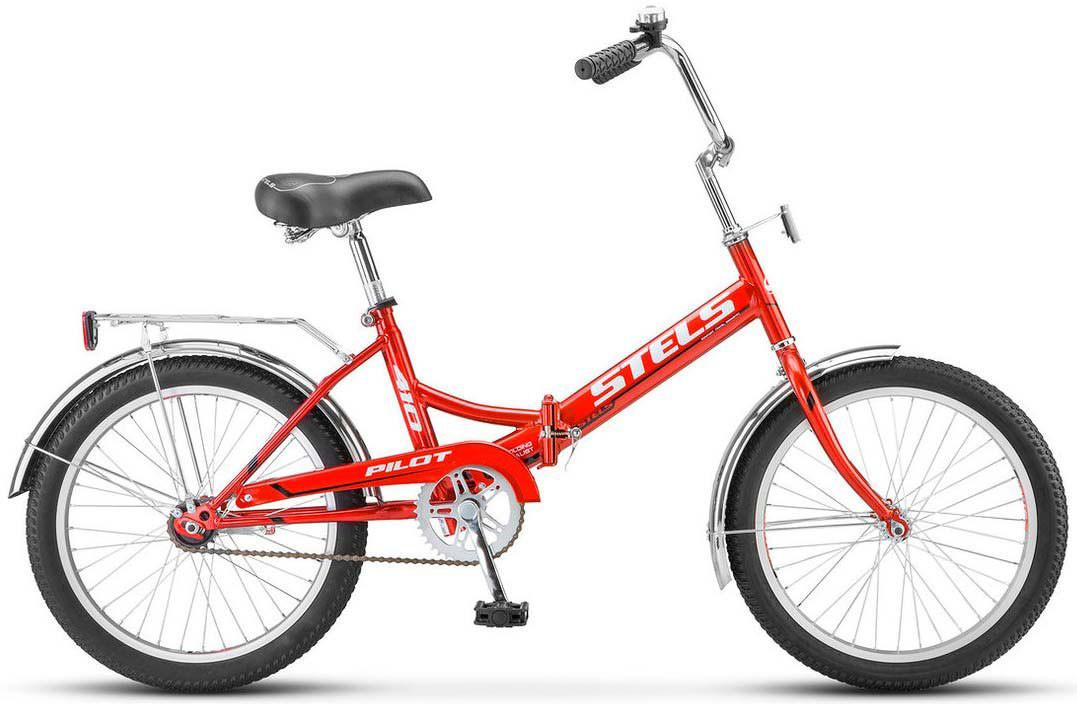 Складной велосипед Stels Pilot-410 2017 Z011 красный