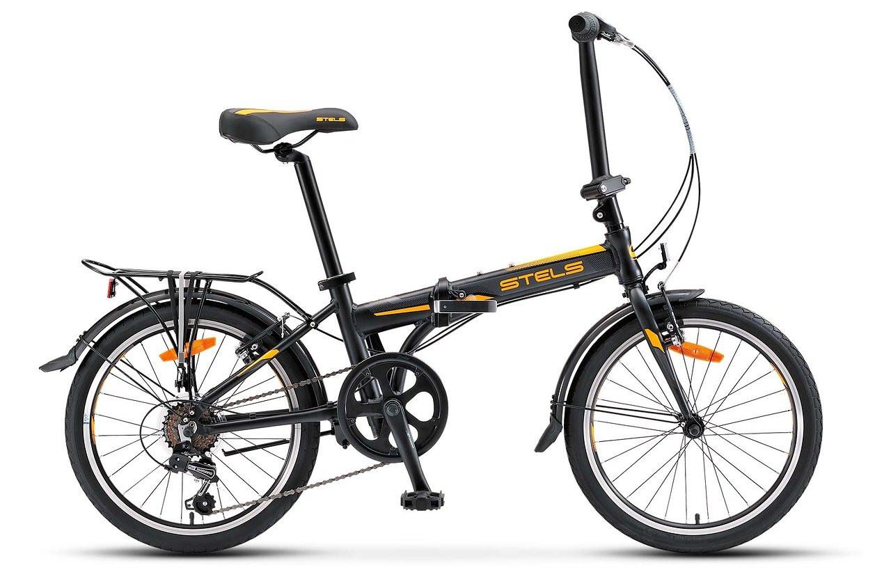 Складной велосипед Stels Pilot-630 2017 V020 черный