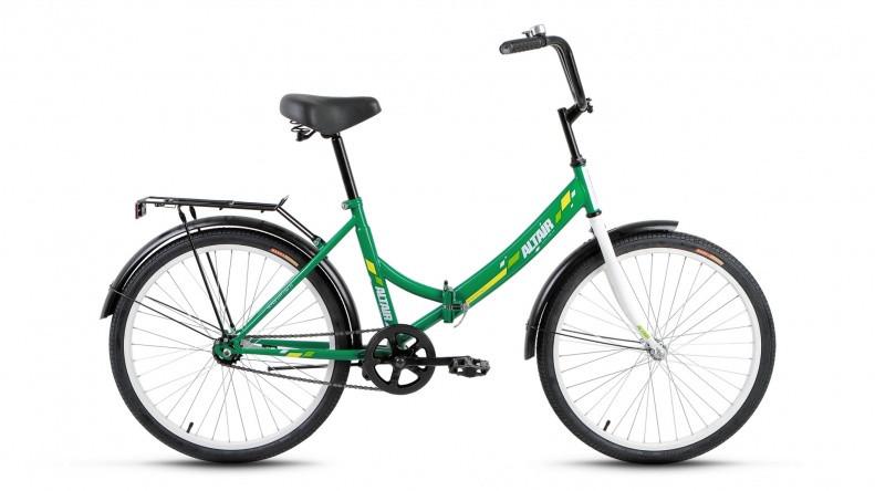 """Складной велосипед Altair City 2017 24"""" зеленый"""
