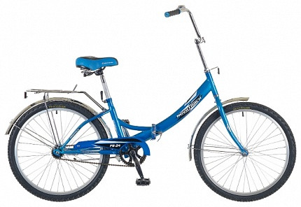Складной велосипед Novatrack FS-24 2015 синий