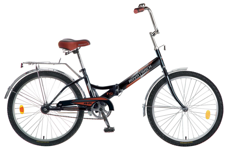 Складной велосипед Novatrack FS-24 2015 красный