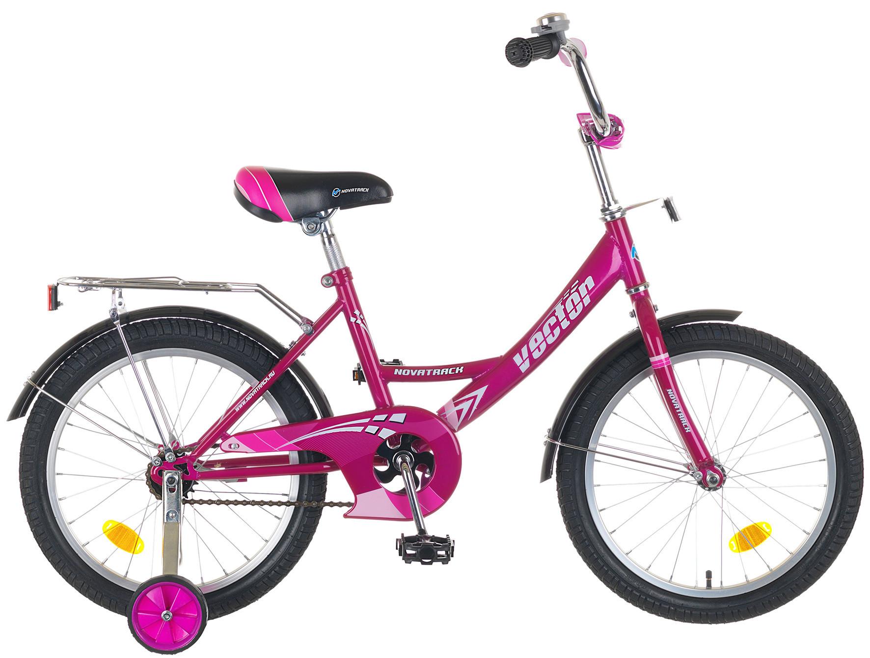"""Детский велосипед Novatrack Vektor 2015 18"""" красный"""