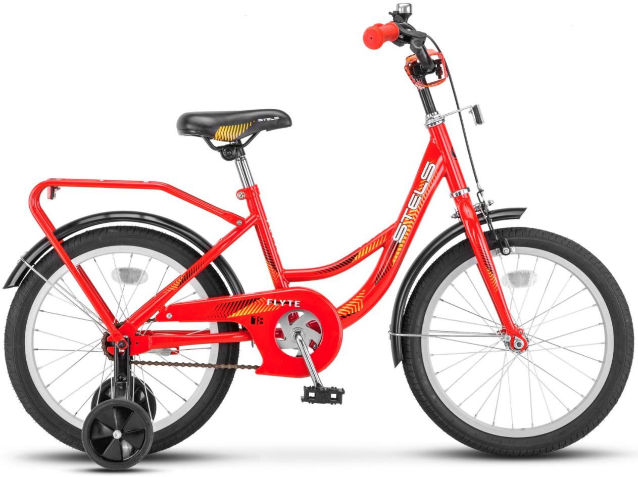 """Детский велосипед Stels Flyte 2018 Z010 18"""" красный"""