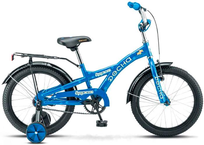 """Детский велосипед Десна Дружок 2017 Z010 18"""" синий"""