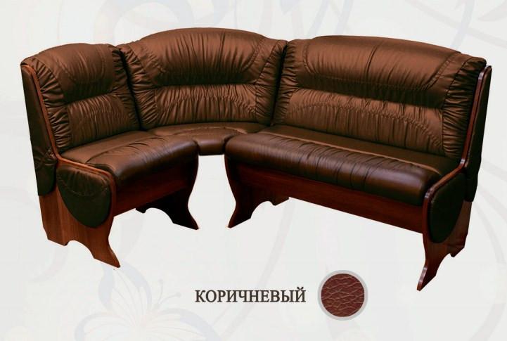 Кухонный уголок Сибирский Двор Калипсо Орех / Коричневый