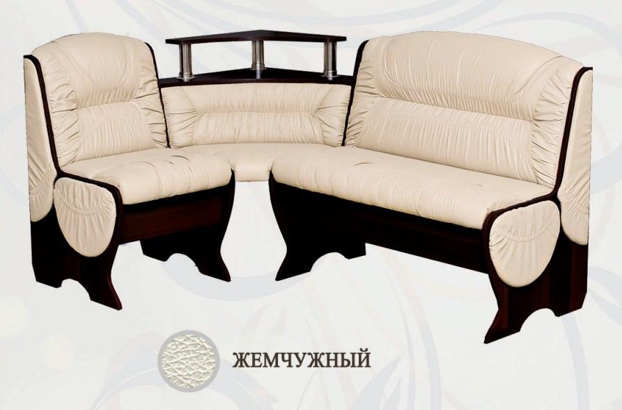 Кухонный уголок Сибирский Двор Калипсо Бар Венге / Жемчужный