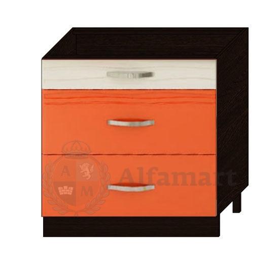 Стол 80 с 3 ящиками (метабоксы) арт. 09.67