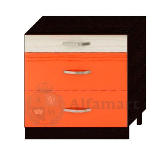 Стол с 3 ящиками 80 с системой плавного закрывания арт. 09.92