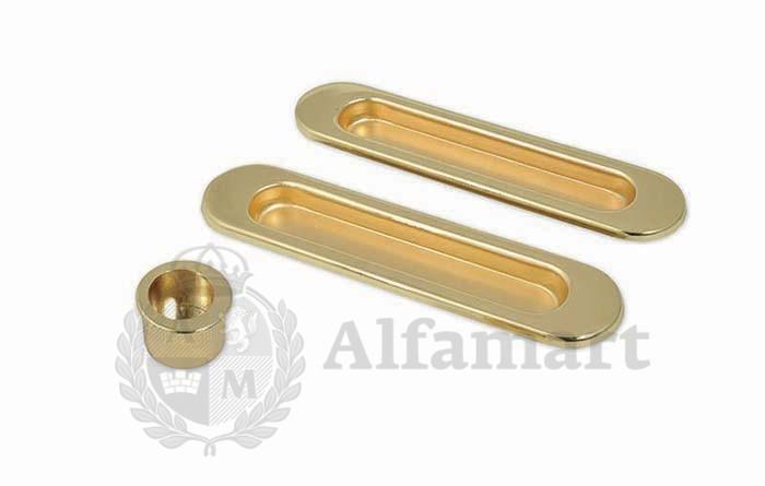Комплект ручек Palladium 02-PS для раздвижных дверей