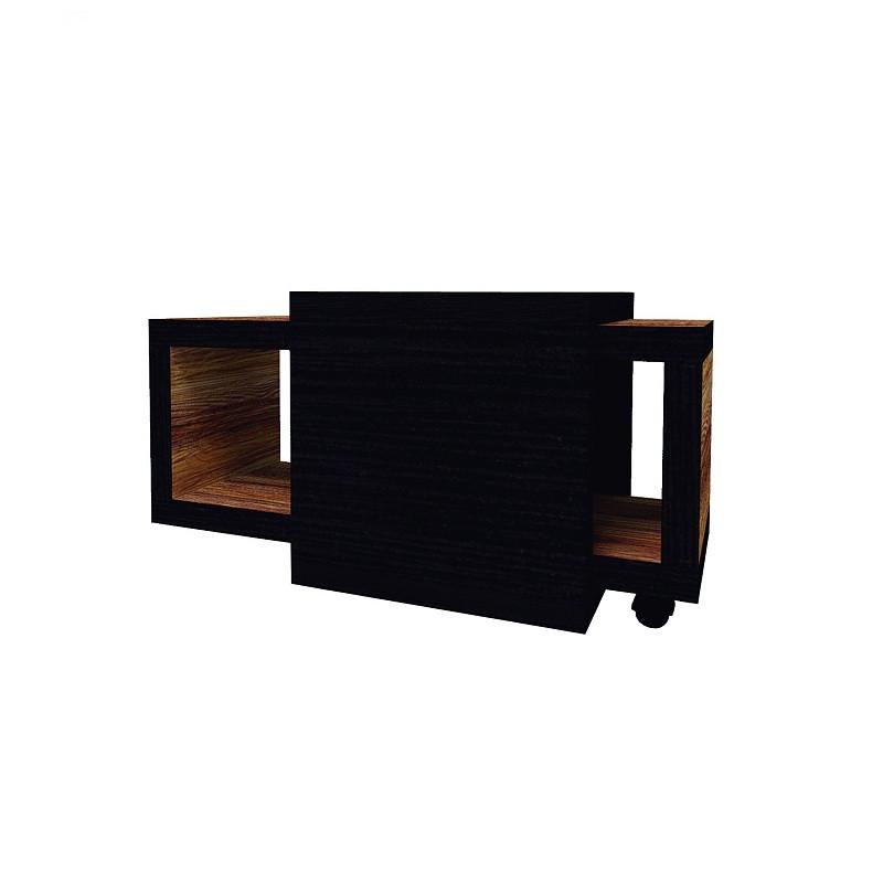 Hyper Стол журнальный 1 Венге / Палисандр темный