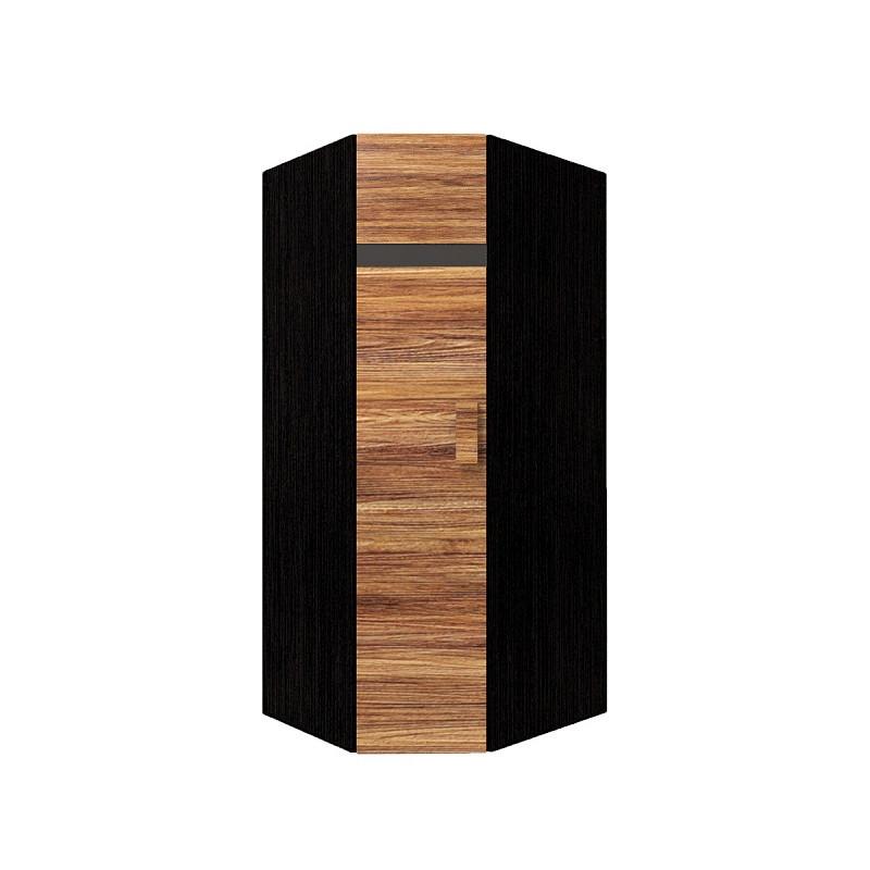 Hyper Шкаф угловой 1 левый Венге / Палисандр темный
