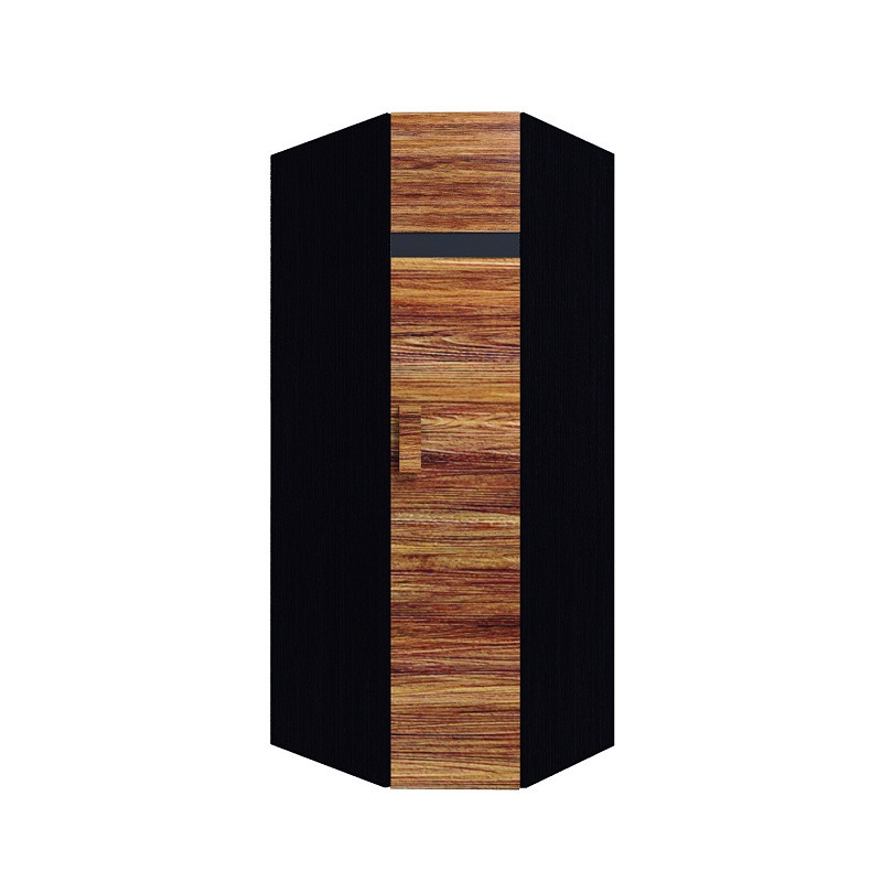Hyper Шкаф угловой 1 правый Венге / Палисандр темный