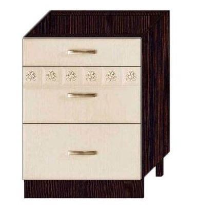 Стол 60 с 3 ящиками (метабоксы) арт. 10.66.2