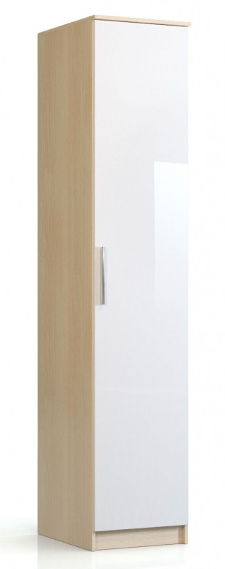 Пенал Николь СВ-544 Дуб кремона / Глянец белый