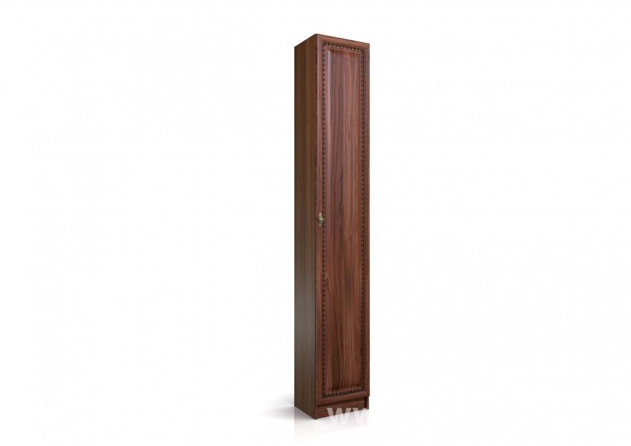 Шкаф торцевой Эльза СВ-430 правый Орех темный