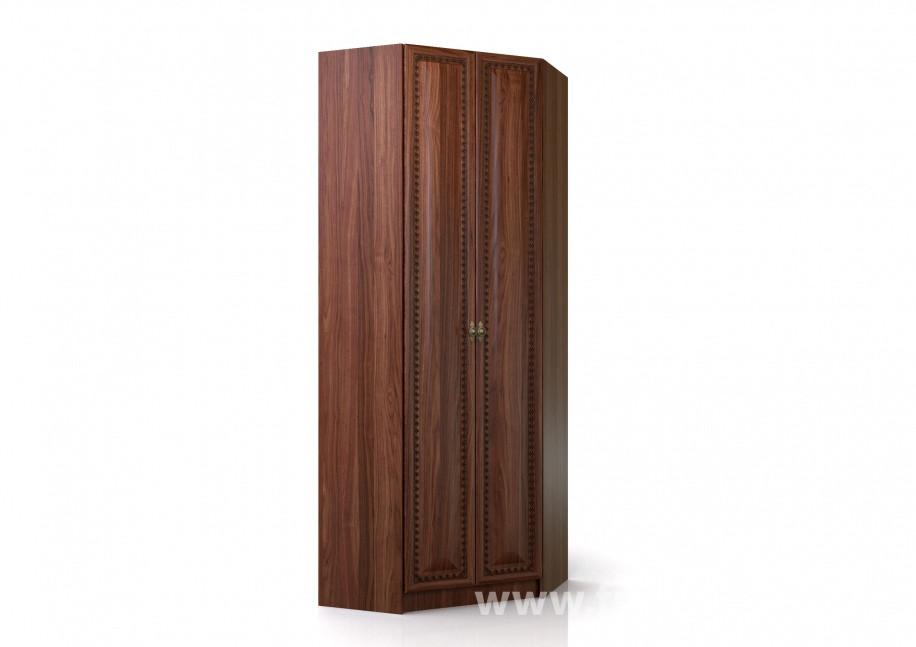 Шкаф угловой Эльза СВ-421 Орех темный