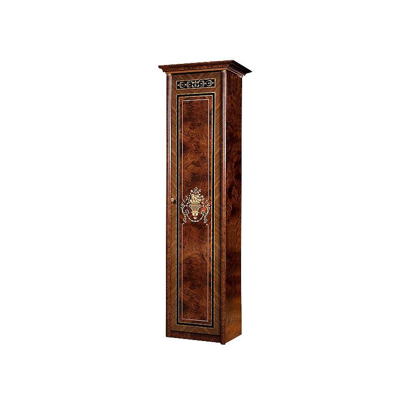 Шкаф однодверный для белья правый Карина-3 Орех