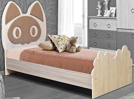 Горка 3Д Модуль №8 Каркас кровати (котенок)