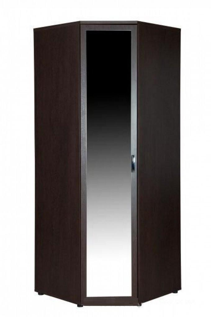 Шкаф угловой левый с зеркалом Ривьера 95.09