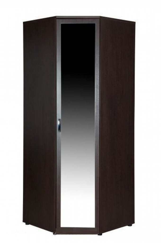 Шкаф угловой правый с зеркалом Ривьера 95.09