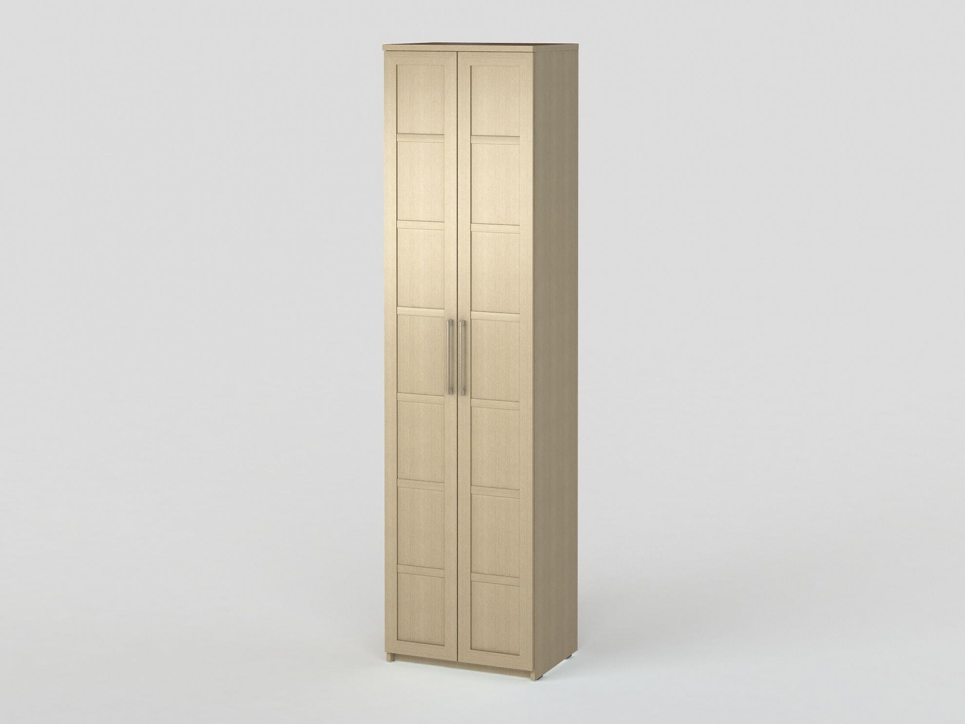Соло 027 Шкаф платяной фасады ДСП Дуб Молочный