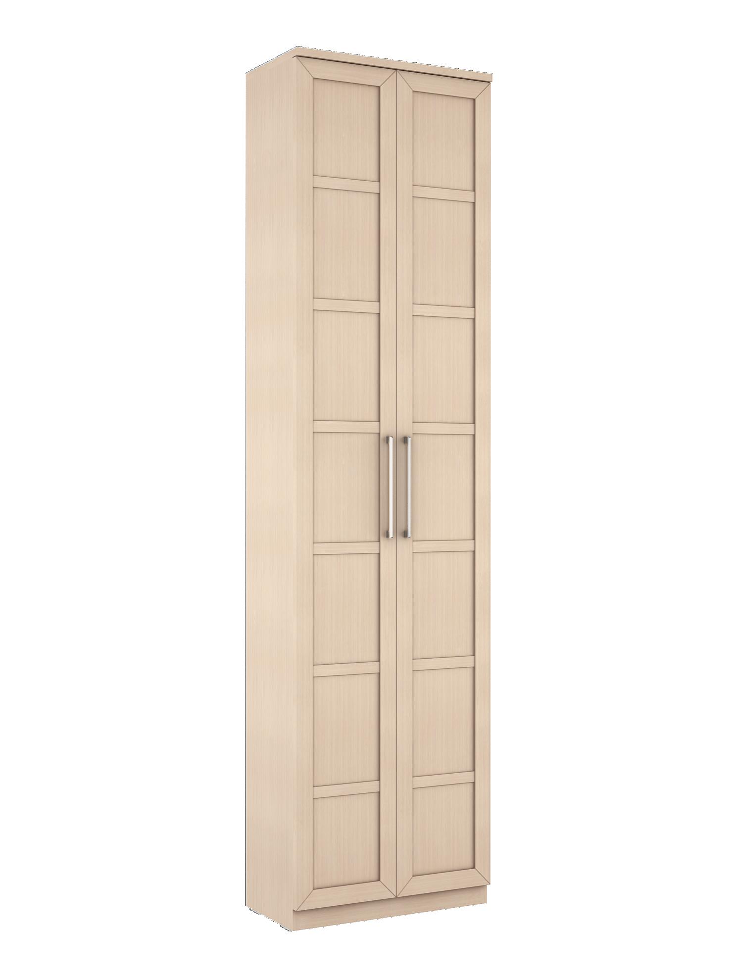 Соло 058 Шкаф платяной фасады ДСП Дуб Молочный