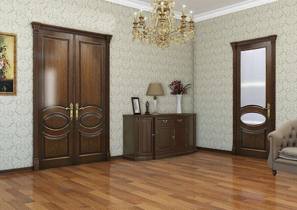 Двери из массива дуба и бука - Дубовые двери оптом