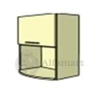 Верхний модуль В 600 1газ/ст + ниша (глянец)