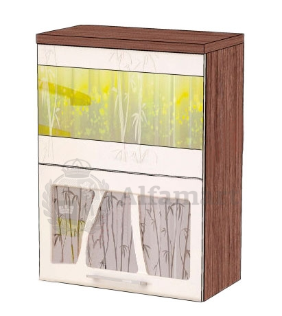 Шкаф-витрина 60 с системой плавного закрывания арт. 17.80