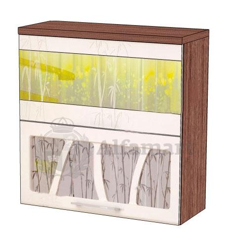 Шкаф-витрина 80 с системой плавного закрывания арт. 17.81