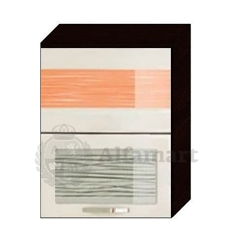 Шкаф-витрина 60 с системой плавного закрывания арт. 09.80