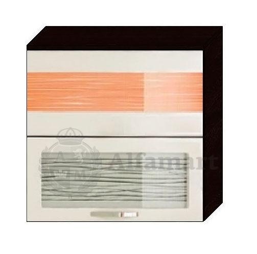 Шкаф-витрина 80 с системой плавного закрывания арт. 09.81