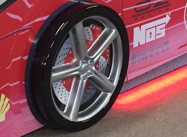 КарлСон Пластиковые колеса (2 штуки)