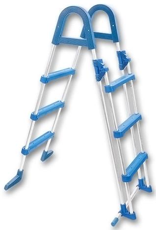 Лестница для сборного бассейна Mountfield Safety Basic Azuro, высота 0.9 м, арт. 3EXX0176[3EXX0102/3EXX0154]